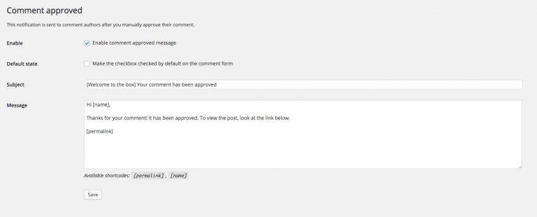 تایید نظرات از طریق ایمیل در وردپرس