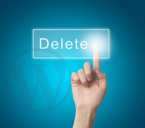 حذف نسخه وردپرس از پیشخوان