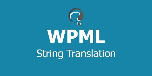 افزونه WPML String Translation