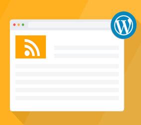 نمایش RSS بدون ابزارک در وردپرس