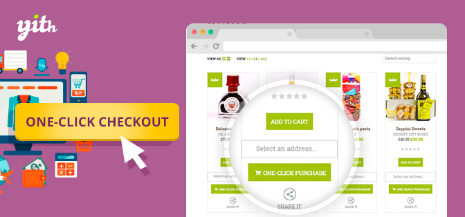افزونه Yith One-Click Checkout