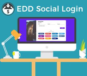 افزونه EDD Social Login