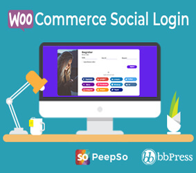 افزونه WooCommerce Social Login