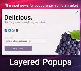 افزونه Layered Popups
