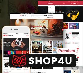 قالب Shop4u Pro