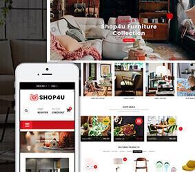 قالب فروشگاهی شاپ فوریو Shop4u Pro