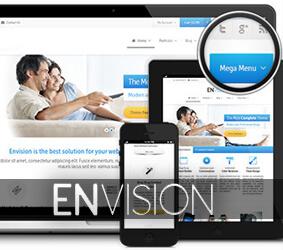 قالب شرکتی انویژن Envision
