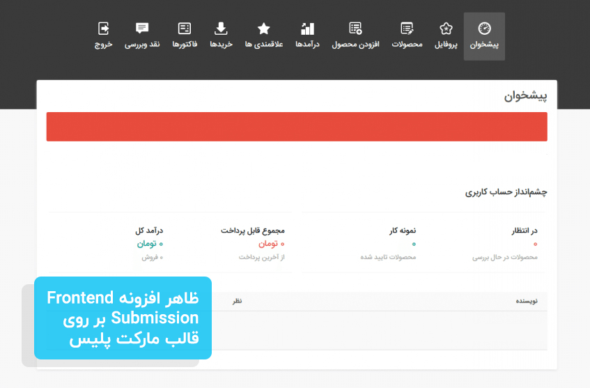 افزونه Easy Digital Downloads Frontend Submissions